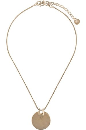 Goossens Boucle medal necklace