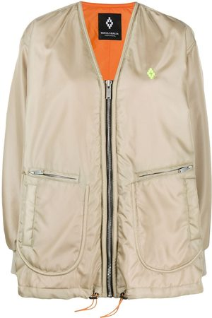 MARCELO BURLON COUNTY OF MILAN Atmosphera print bomber jacket