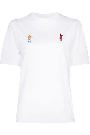 Kirin Dancer embroidered T-shirt