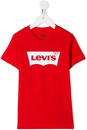 Levi's Logo print crewneck T-shirt