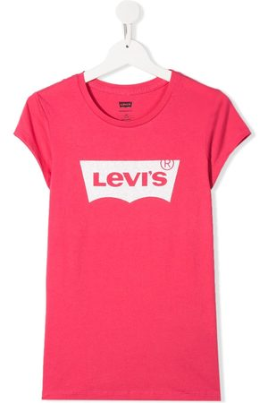 Levi's Girls Short Sleeve - TEEN logo print T-shirt