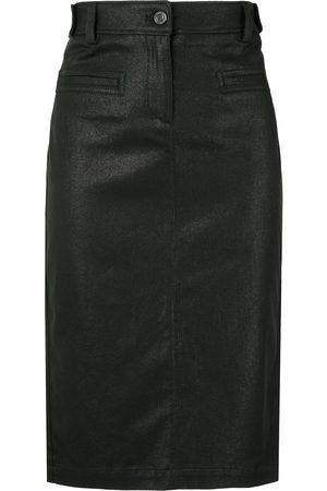 Tom Ford Coated biker pencil skirt