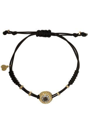Pippo Perez 18kt diamond sapphire adjustable bracelet