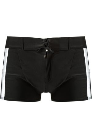 AMIR SLAMA Mesh panelled trunks