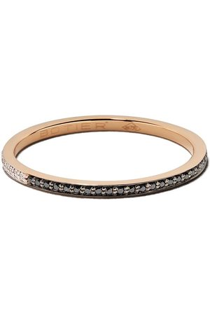 Botier 18kt rose gold Day And Night diamond eternity ring