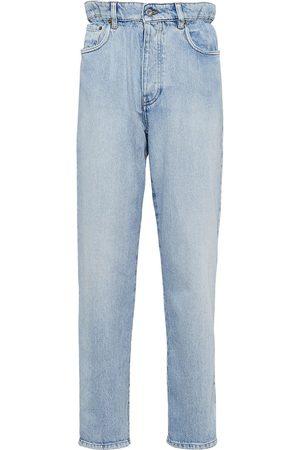 Miu Miu Women High Waisted - High-waisted straight-leg jeans