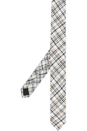 Gianfranco Ferré 1990s check print tie