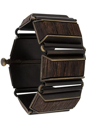 Gianfranco Ferré 2000s wooden bangle bracelet