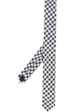 Gianfranco Ferré 1990s gingham print tie