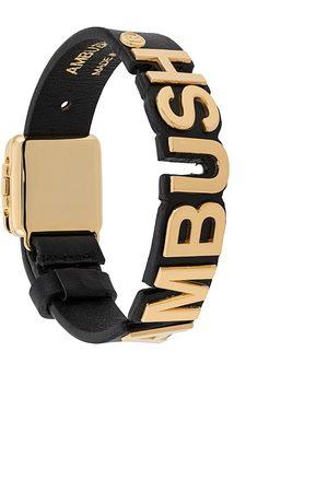 AMBUSH Nameplate logo bracelet