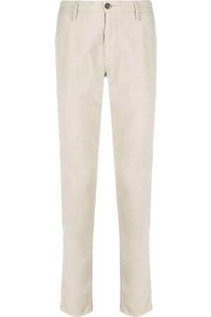 Incotex Low-rise slim-fit chinos