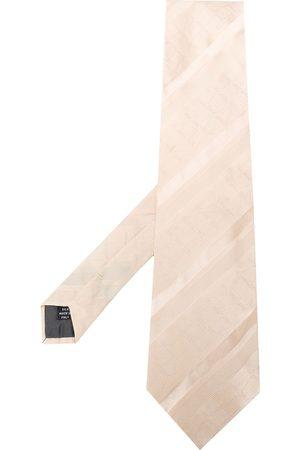 Gianfranco Ferré Pre-Owned 1990s jacquard geometric pattern tie