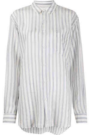 Maison Margiela Striped button-up shirt