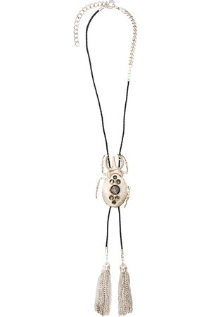 Gianfranco Ferré 2000s beetle charm necklace