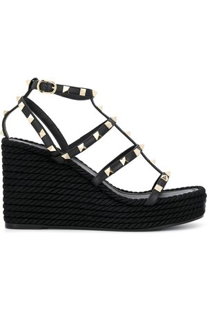 VALENTINO Women Platform Sandals - Garavani Rockstud platform sandals
