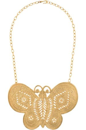 Katheleys Vintage 2000 Kenneth Lane Butterfly Sex and the City necklace