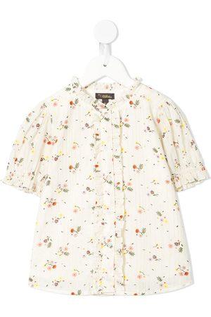 Velveteen Emma floral printed shirt