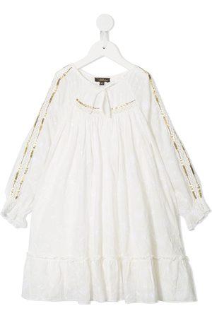 Velveteen Frankie sequin trimmed dress