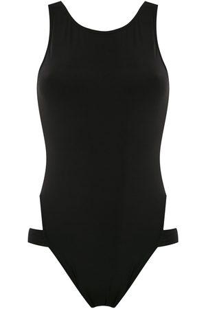 Brigitte Strappy high cut leg swimsuit
