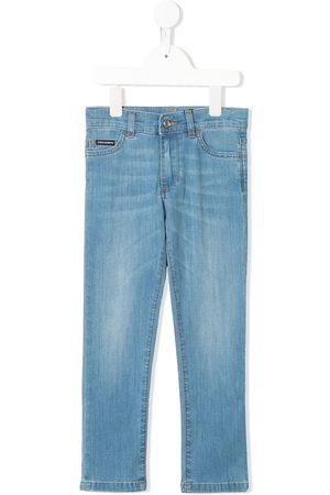 Dolce & Gabbana Five pocket design denim trousers