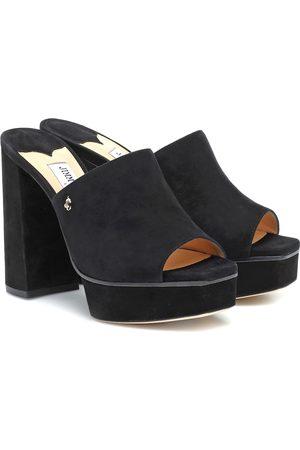 Jimmy Choo Bethen 115 suede platform sandals
