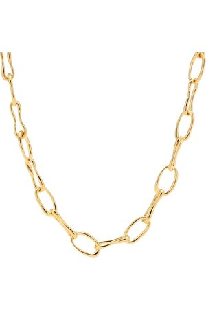 Sophie Buhai Roman Chain 18kt -plated necklace