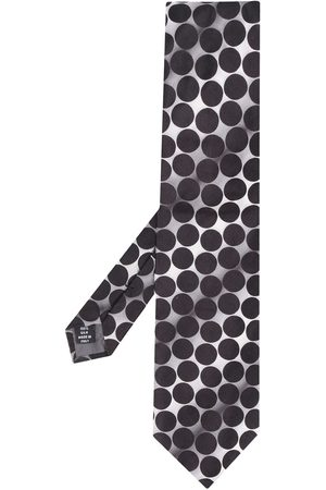 Gianfranco Ferré 1990s marble effect dotted tie