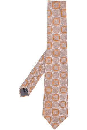 Gianfranco Ferré 1990s geometric print tie