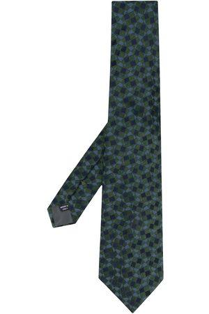 Gianfranco Ferré 1990 geometric print tie