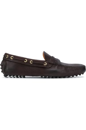CAR SHOE Men Loafers - Distressed driving loafers