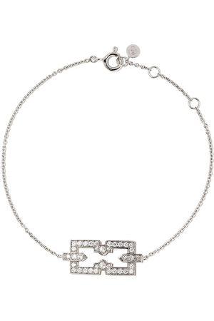 Raphaele Canot 18kt skinny Deco icon bracelet