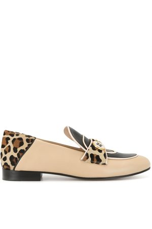 PORTS 1961 Animal-print two-button loafers
