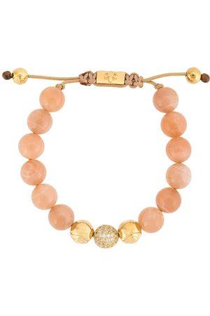 Nialaya Jewelry Moonstone beaded bracelet