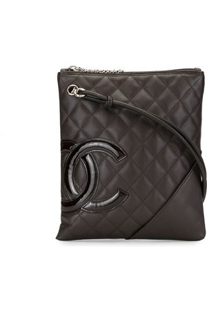 CHANEL 2006 Cambon line diamond quilted crossbody bag