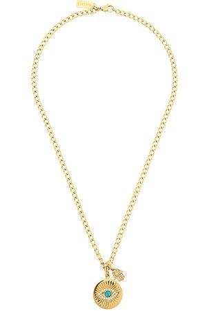 Nialaya Women Necklaces - Skyfall Evil Eye pendant necklace