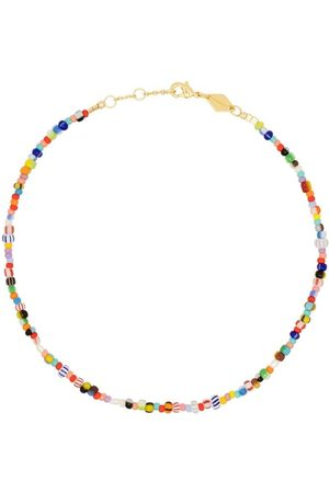Anni Lu 18kt gold-plated Petit Alaia anklet
