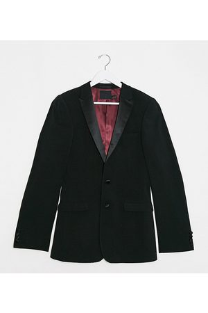 ASOS Tall super skinny tuxedo suit jacket in