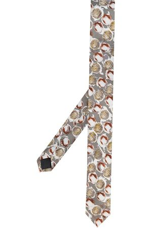 Gianfranco Ferré 1990s abstract print tie