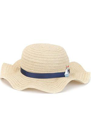 Familiar Wave-brim sun hat