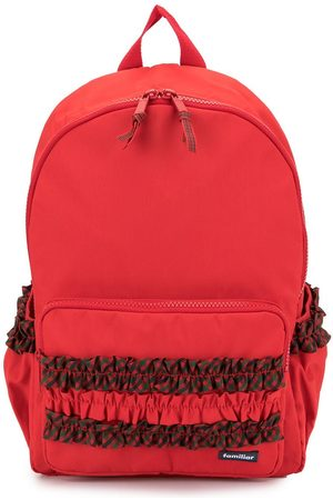 Familiar Ruched detail backpack