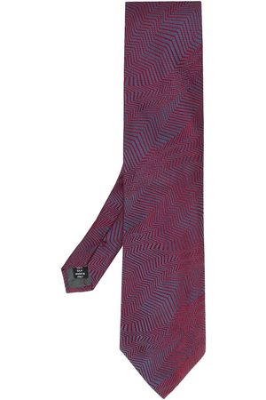 Gianfranco Ferré 1990 abstract print tie