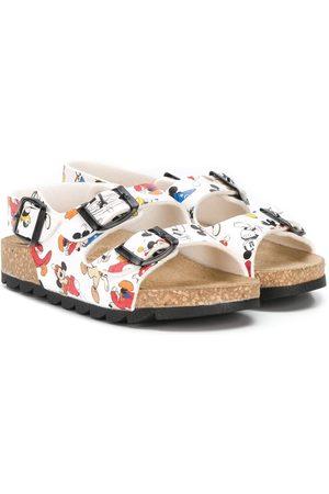 Moa Mickey print sandals