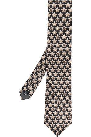Gianfranco Ferré 1990 star print tie