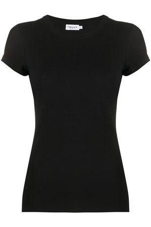 Filippa K Ribbed short-sleeve T-shirt