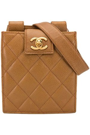 CHANEL Quilted CC belt bag