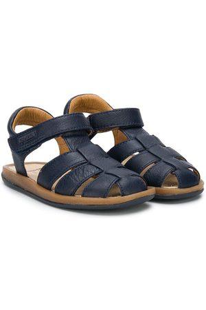 Camper Bicho logo patch sandals