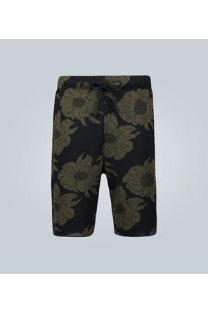 DRIES VAN NOTEN Floral jacquard shorts
