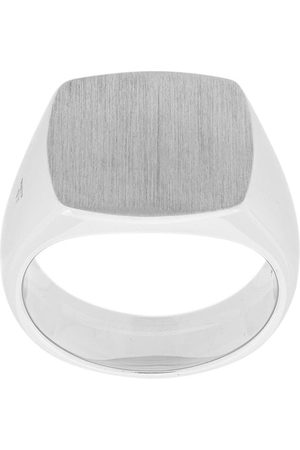 TOM WOOD Cushion signet ring