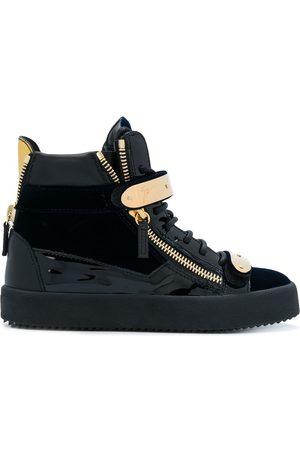 Giuseppe Zanotti Cody touch strap sneakers