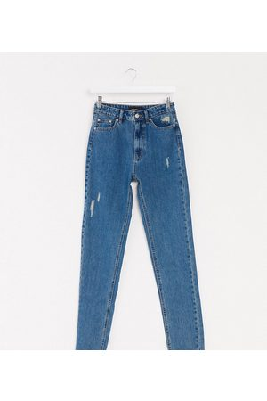 Vero Moda Tall Mom jeans with high waist in medium
